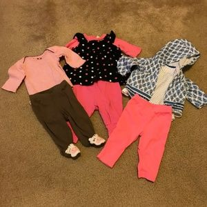 Trio long sleeve outfits size 3 months